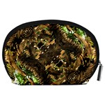 Artificial Tribal Jungle Print Accessory Pouch (Large) Back