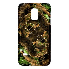 Artificial Tribal Jungle Print Samsung Galaxy S5 Mini Hardshell Case