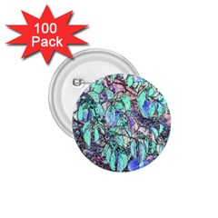 Colored Pencil Tree Leaves Drawing 1 75  Button (100 Pack)