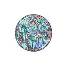 Colored Pencil Tree Leaves Drawing Golf Ball Marker (for Hat Clip)