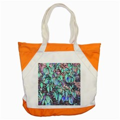Colored Pencil Tree Leaves Drawing Accent Tote Bag
