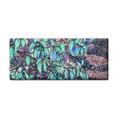 Colored Pencil Tree Leaves Drawing Hand Towel