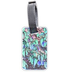 Colored Pencil Tree Leaves Drawing Luggage Tag (Two Sides)