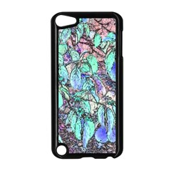 Colored Pencil Tree Leaves Drawing Apple iPod Touch 5 Case (Black)