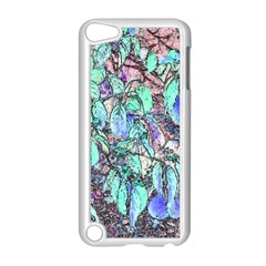 Colored Pencil Tree Leaves Drawing Apple iPod Touch 5 Case (White)