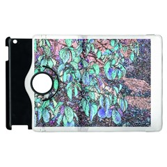 Colored Pencil Tree Leaves Drawing Apple Ipad 2 Flip 360 Case
