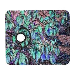 Colored Pencil Tree Leaves Drawing Samsung Galaxy S  III Flip 360 Case