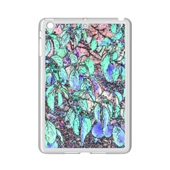 Colored Pencil Tree Leaves Drawing Apple iPad Mini 2 Case (White)