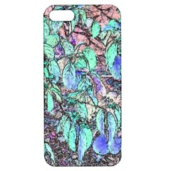 Colored Pencil Tree Leaves Drawing Apple Iphone 5 Hardshell Case With Stand