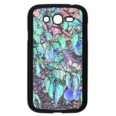Colored Pencil Tree Leaves Drawing Samsung Galaxy Grand Duos I9082 Case (black)