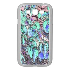 Colored Pencil Tree Leaves Drawing Samsung Galaxy Grand DUOS I9082 Case (White)