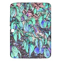 Colored Pencil Tree Leaves Drawing Samsung Galaxy Tab 3 (10.1 ) P5200 Hardshell Case