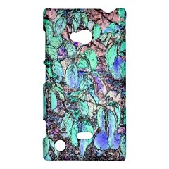 Colored Pencil Tree Leaves Drawing Nokia Lumia 720 Hardshell Case
