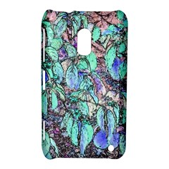 Colored Pencil Tree Leaves Drawing Nokia Lumia 620 Hardshell Case