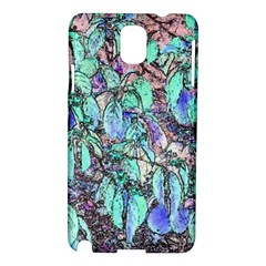 Colored Pencil Tree Leaves Drawing Samsung Galaxy Note 3 N9005 Hardshell Case