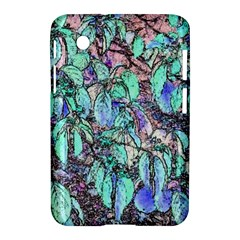 Colored Pencil Tree Leaves Drawing Samsung Galaxy Tab 2 (7 ) P3100 Hardshell Case
