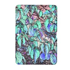 Colored Pencil Tree Leaves Drawing Samsung Galaxy Tab 2 (10.1 ) P5100 Hardshell Case
