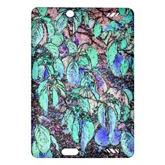 Colored Pencil Tree Leaves Drawing Kindle Fire Hd 7  (2nd Gen) Hardshell Case