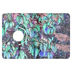 Colored Pencil Tree Leaves Drawing Kindle Fire HDX 7  Flip 360 Case