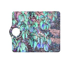 Colored Pencil Tree Leaves Drawing Kindle Fire HDX 8.9  Flip 360 Case