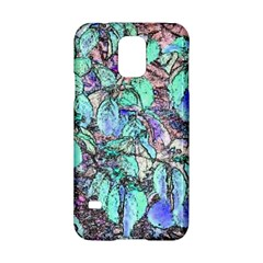 Colored Pencil Tree Leaves Drawing Samsung Galaxy S5 Hardshell Case