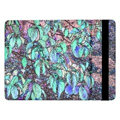 Colored Pencil Tree Leaves Drawing Samsung Galaxy Tab Pro 12.2  Flip Case