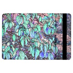 Colored Pencil Tree Leaves Drawing Apple iPad Air Flip Case