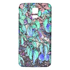 Colored Pencil Tree Leaves Drawing Samsung Galaxy S5 Back Case (white)