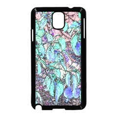 Colored Pencil Tree Leaves Drawing Samsung Galaxy Note 3 Neo Hardshell Case (Black)