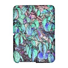 Colored Pencil Tree Leaves Drawing Kindle Fire (2nd Gen 2013) Hardshell Case