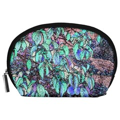 Colored Pencil Tree Leaves Drawing Accessory Pouch (Large)
