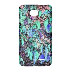 Colored Pencil Tree Leaves Drawing LG Optimus L70 Hardshell Case
