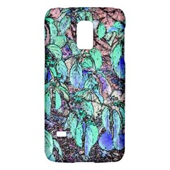 Colored Pencil Tree Leaves Drawing Samsung Galaxy S5 Mini Hardshell Case