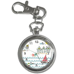 Summer Holiday Key Chain Watch