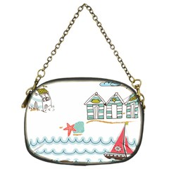 Summer Holiday Chain Purse (one Side)