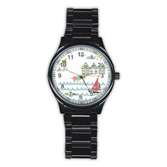 Summer Holiday Sport Metal Watch (black)