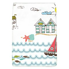 Summer Holiday Removable Flap Cover (large)