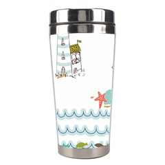 Summer Holiday Stainless Steel Travel Tumbler