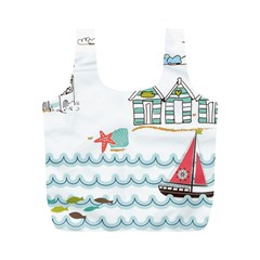 Summer Holiday Reusable Bag (m)
