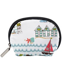 Summer Holiday Accessory Pouch (Small)