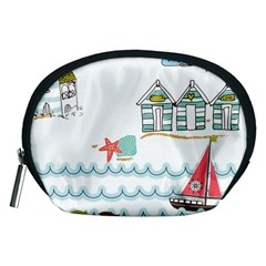 Summer Holiday Accessory Pouch (Medium)
