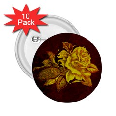Rose 2.25  Button (10 pack)