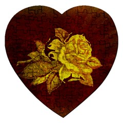 Rose Jigsaw Puzzle (Heart)
