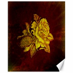 Rose Canvas 11  X 14  (unframed)