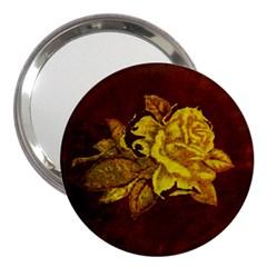 Rose 3  Handbag Mirror
