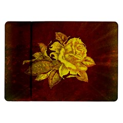 Rose Samsung Galaxy Tab 10.1  P7500 Flip Case