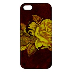 Rose iPhone 5S Premium Hardshell Case