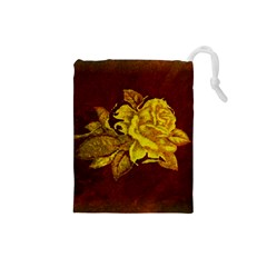 Rose Drawstring Pouch (Small)