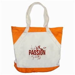 Passion and Lust Grunge Design Accent Tote Bag