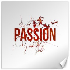 Passion And Lust Grunge Design Canvas 12  X 12  (unframed)